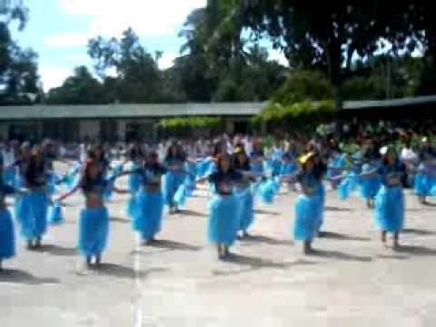 4th yr Tahitian Hawaiian Creative Dance