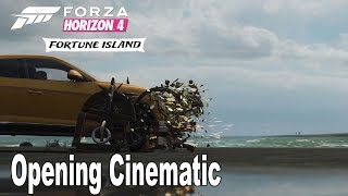 Forza Horizon 4: Fortune Island - Opening Cinematic [HD 1080P]