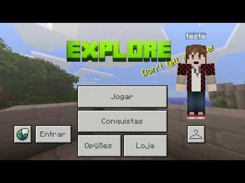 EXPLORE - Craft Exploration Survival PE, download, texturas, blocos e opções