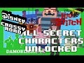 ★ Disney Crossy Road ALL LILO AND STITCH SECRET CHARACTERS Unlocked (Lilo and Stitch Update)