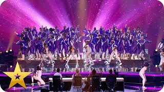 100 Voices of Gospel hit ALL the right notes | BGT: The Champions