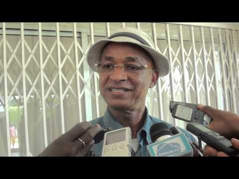 Cellou Dalein Diallo, à la presse, après un tour à Dixinn et Minière
