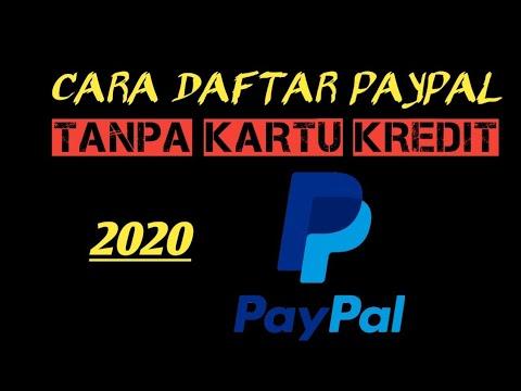 CARA DAFTAR PAYPAL TERBARU 2020 TANPA KARTU KREDIT DI ANDROID