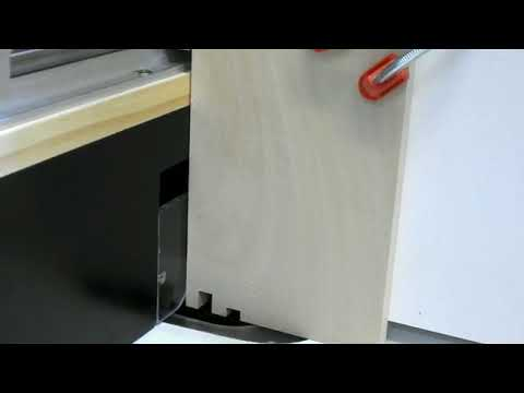 Test Box joint on DIY Automated Router Table