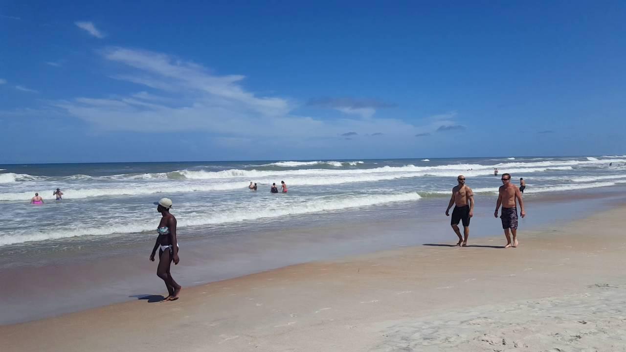 La Playa Dorada De St Augustine Fl En Memorial Day