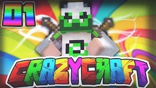 Minecraft CRAZY CRAFT 3.0 SMP - Episode 1 - DON