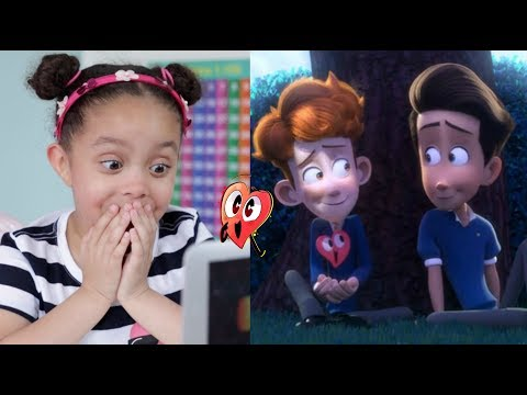 Daughter's Shocking Reaction to 'In a Heartbeat' | Gay Animated Short Film