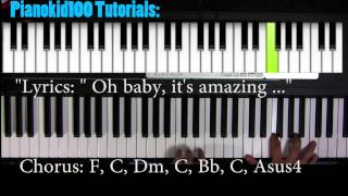"""Piano Tutorial for """"Holy Grail"""" by Jay-z featuring JT"""