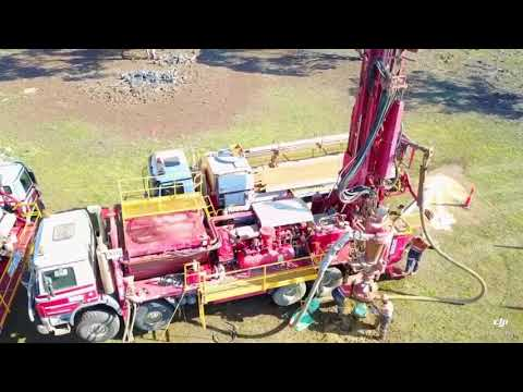 RC Drilling recorded by Drone in WA