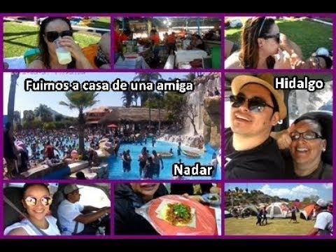Vlog #11//Fin de Semana en Hidalgo//Fuimos a Nadar//sara dice