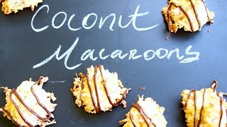 How To Make Easy Coconut Macaroons - Cookie Recipe