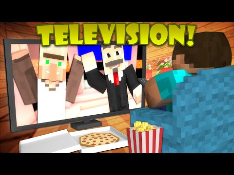 Thumbnail: If TV was Added to Minecraft