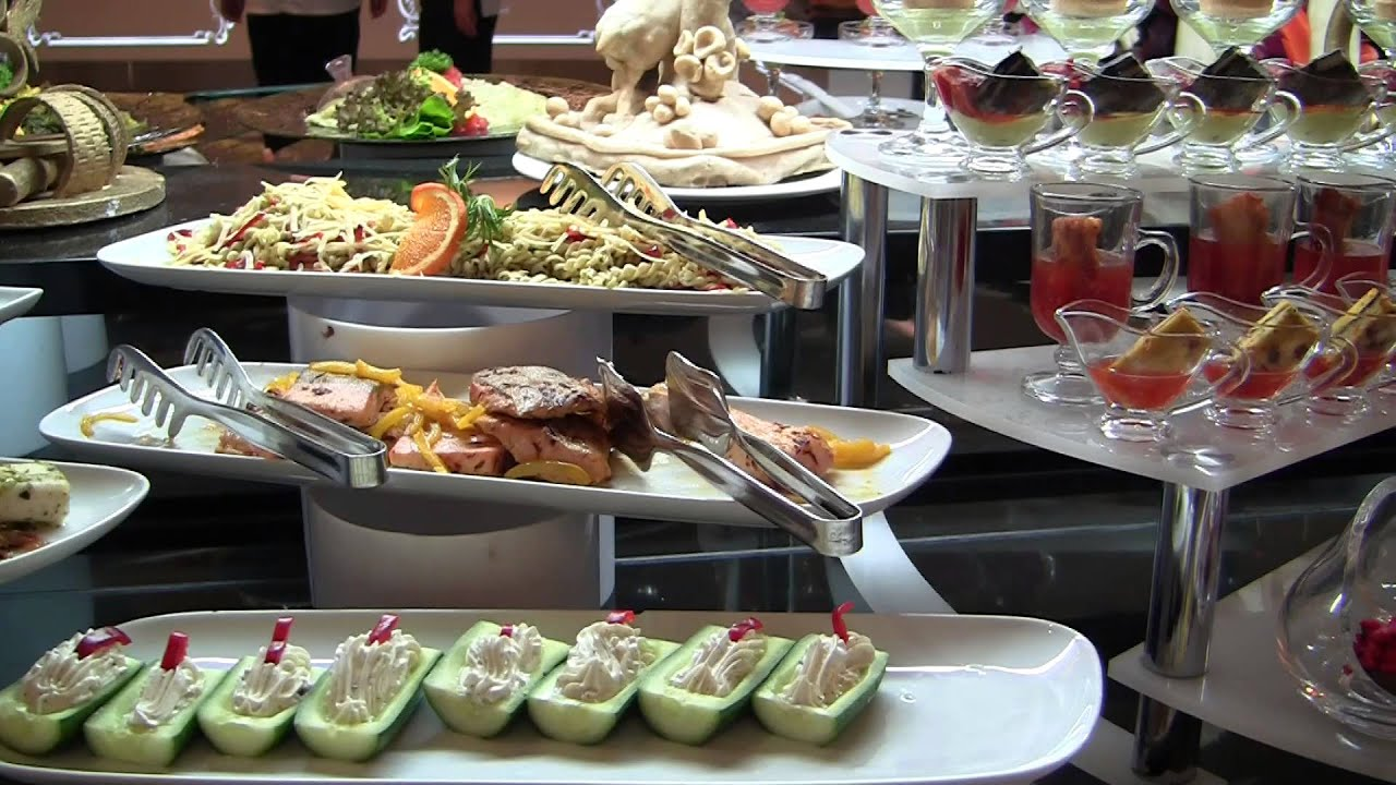 Delphin Imperial Lara Turquie The Food Les Buffets