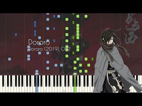 Dororo - Dororo (2019) OP2 - Piano Arrangement [Synthesia]