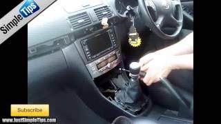 Radio Removal Toyota Avensis (2002-2008)   JustAudioTips