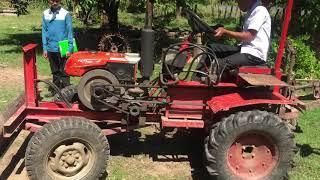 ស្នាដៃឆ្នៃប្រឌិតរបស់កូនខ្មែរពីគោយន្តដើរតាមទៅជាត្រាក់ទ័រ Tractor Khmer