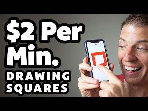 Make Money Drawing Squares & Shapes [Easy Online Jobs]