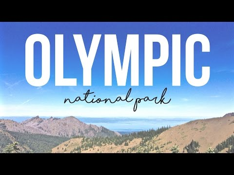 Exploring Olympic National Park & Hurricane Ridge - a Drivin' & Vibin' Travel Vlog