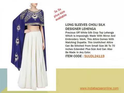 Indiabazaaronline 3x 5x Plus Size Indo Western Designer Dresses For