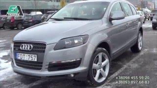 Авто из Европы Audi Q7, 3 0 Машина полная шара