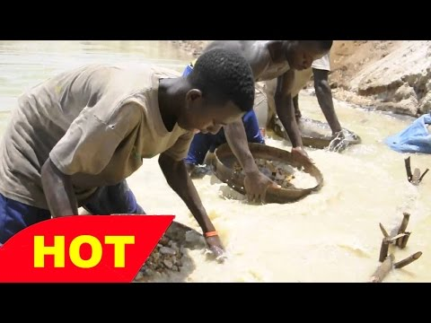 South Africa Diamond Deposits of Orange River DOCUMENTARY