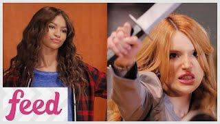 Zendaya vs. Bella Thorne on K.C. Undercover!