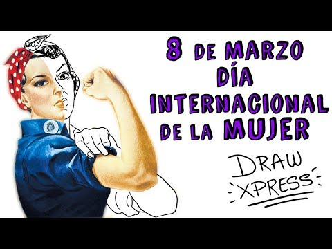 MARCH 8 INTERNATIONAL WOMEN'S DAY ♀ | Draw My Life