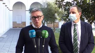 """MANUEL GAVIRA pone en su sitio a Juanma Moreno: """"Está agravando la lacra del paro en Andalucía"""""""