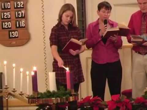 First Congregational Church: Christmas Eve Service, 12/22/11