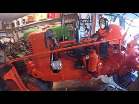 wiring diagram for case vac tractor 1941 case sc 12 volt conversion youtube  1941 case sc 12 volt conversion youtube
