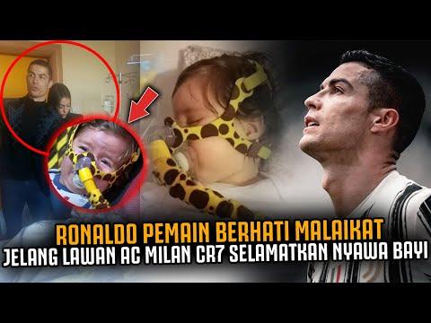 GEMPARKAN DUNIA CR7 PEMAIN BERHATI MALAIKAT ‼️ Jelang Lawan AC Milan Ronaldo Selamatkan Nyawa Bayi
