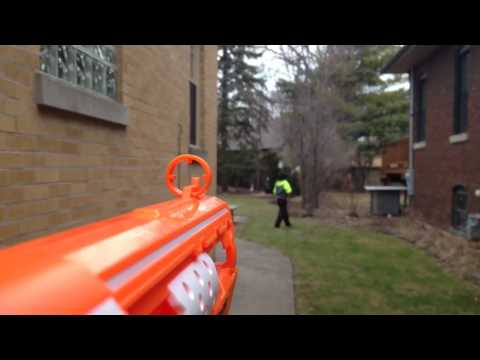 First person shooter nerf