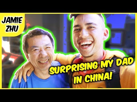 SURPRISING MY DAD IN CHINA! 🇨🇳