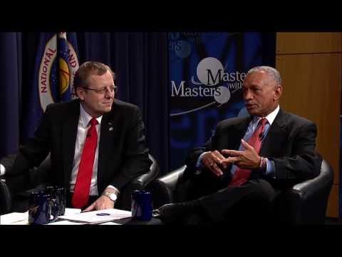 Masters with Masters: Charles Bolden (NASA) and Jan Wörner (DLR)