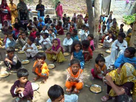 Rasta Foundation Of Pakistan Brick Kiln Slaves School Food Project