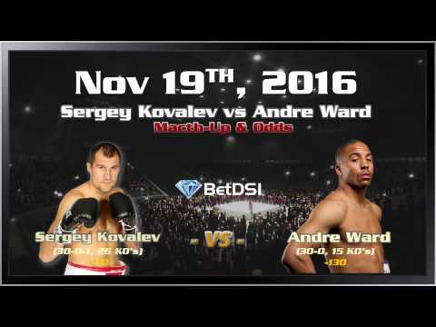 Boxing Sergey Kovalev vs Andre Ward | Fight Preview Betting Odds & Prediction