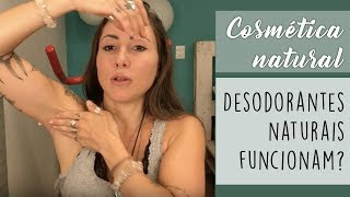 O QUE USO COMO DESODORANTE NATURAL? Vegan e natural