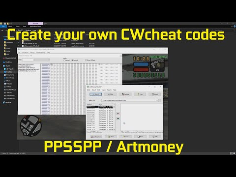 PSP Hacking: How To Create Your Own Cheats For PPSSPP / CWcheat