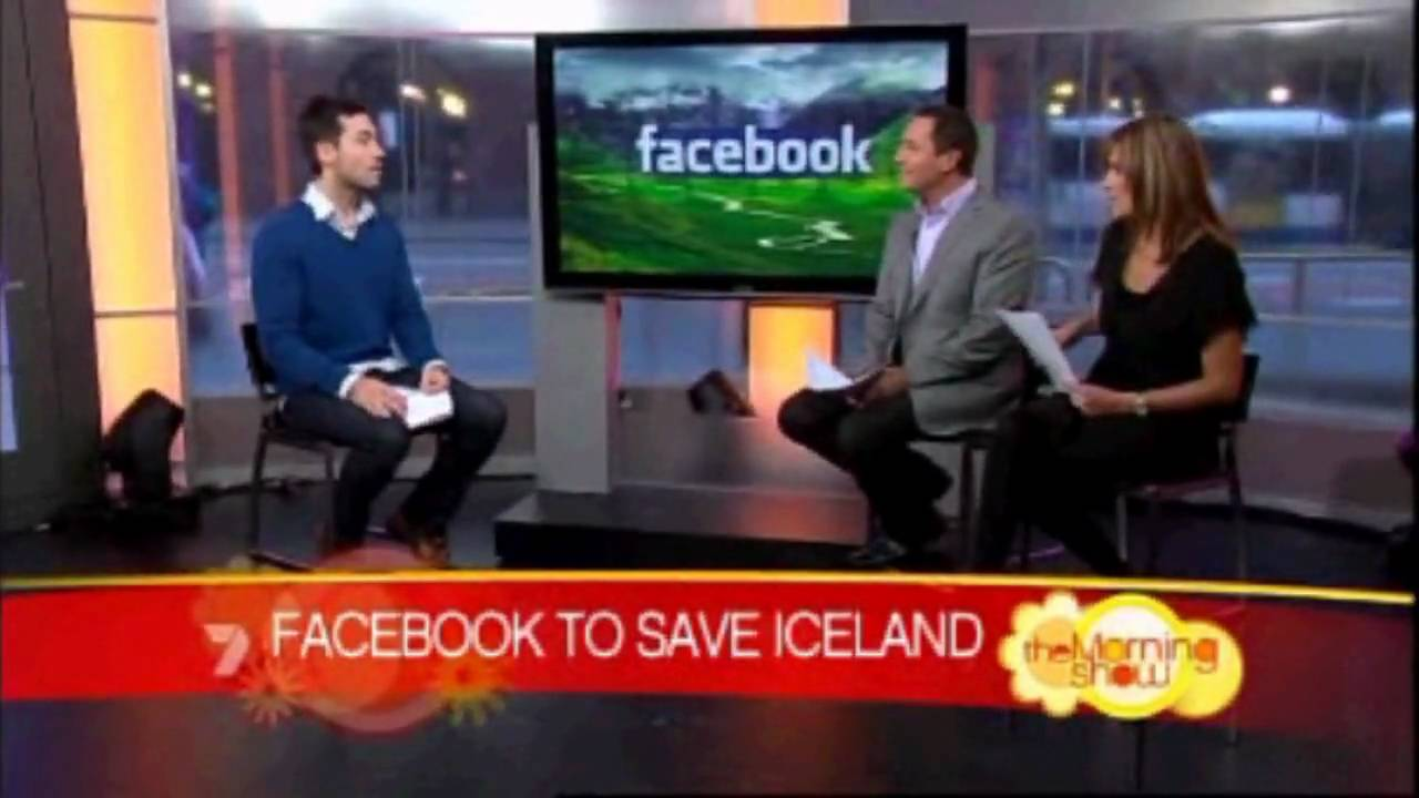 I Iceland On Australia 39 S Channel 7 Morning Show Youtube