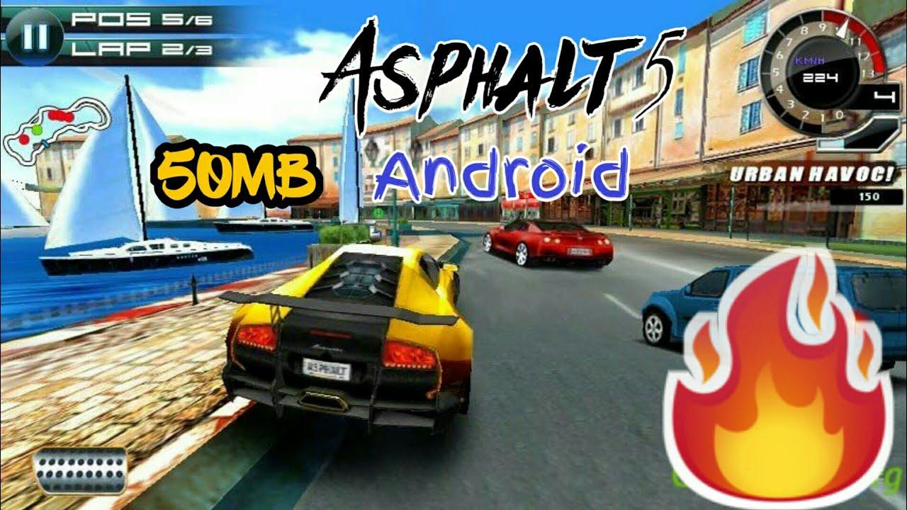 Asphalt 5 download free.