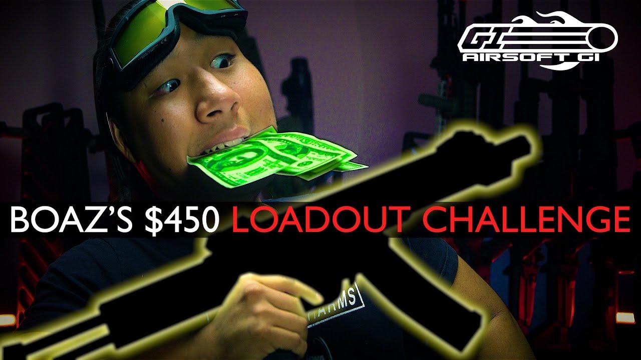 HIGH END GUN LOADOUT! - $450 Tactical Gear Heads Loadout Challenge | Airsoft GI