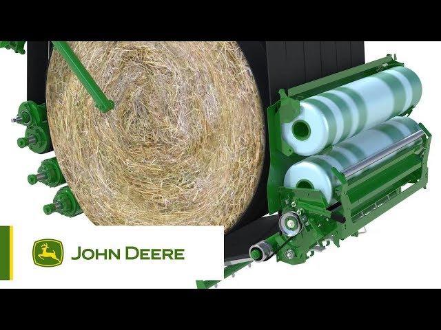 John Deere | M Serie Balenpersen met Variabele kamer
