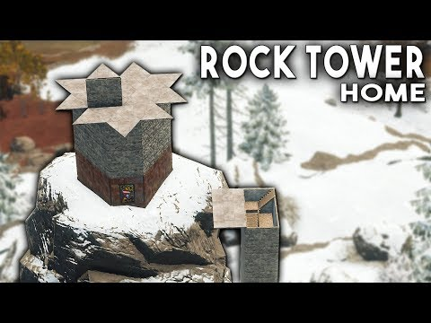 RUST - The Bunker ROCK BASE That Didn't Survive the Relentless Winter thumbnail