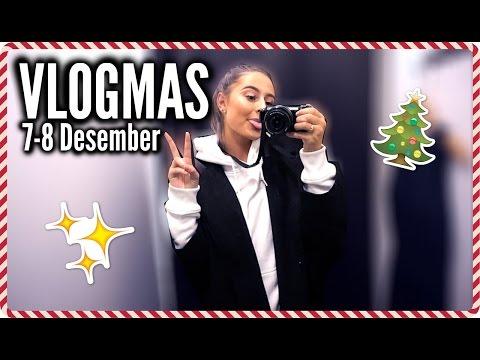 JEG ER SÅ DEMOTIVERT. & Tønsberg tur♡7-8 Desember :: VLOGMAS