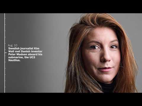 Timeline: Investigation into Swedish journalist Kim Wall's death