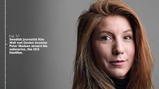 Timeline: Investigation into Swedish journalist Kim Wall's death