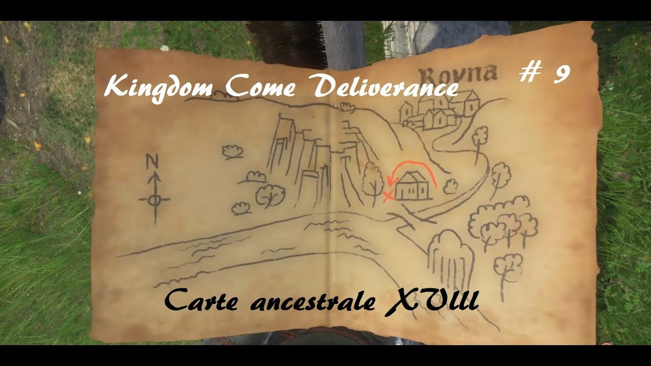 Carte Au Tresor Xviii.Kingdom Come Deliverance Carte Ancestrale Xviii