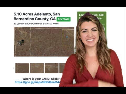 5.10 Acres Adelanto Property in San Bernardino, CA