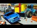 Construction Truck Repair Road | Wheel City Heroes (WCH) | Street Vehicles Cartoon
