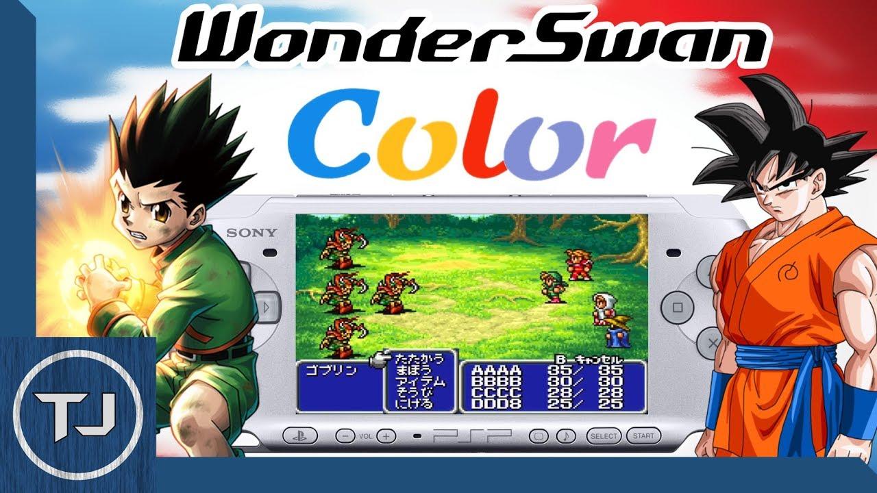 Final fantasy iv [japan] bandai wonderswan color (wonderswan.